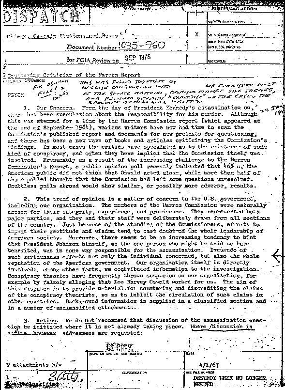 CIA-conspiracy