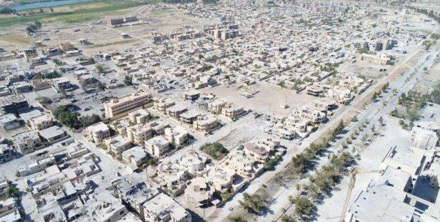Raqqa Destroyed