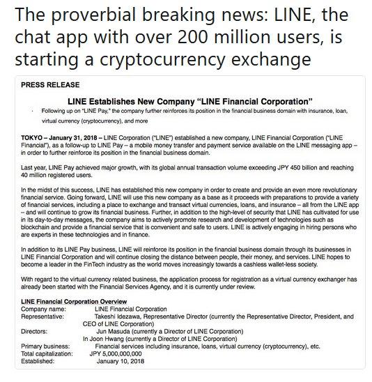 LineBitcoin