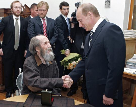 Aleksandr Solzhenitsyn Putin